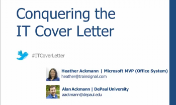 Conquering the IT Cover Letter