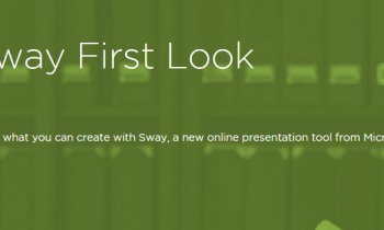 Sway First Look Course from Pluralsight