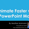 In this clip, PowerPoint MVP Heather Ackmann demonstates how to quickly animate slides using a great new feature called Morph, available now to most Office 365 subscribers.