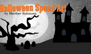 PowerPoint Halloween Speed Art