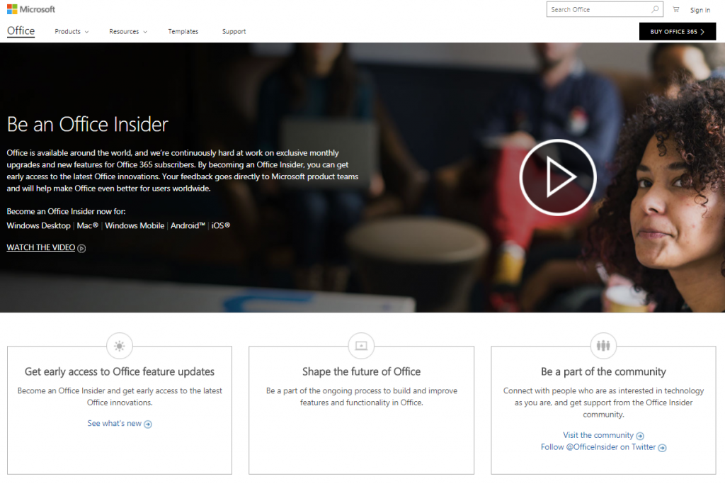Office Insider Home Page