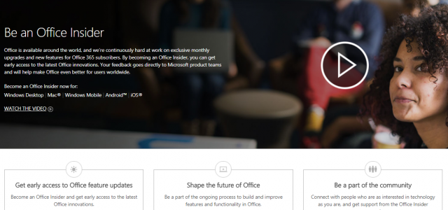 If you are an Office 365 Home or Personal subscriber, you have an option to join a program known as the Office Insider program. What this means, is that by […]