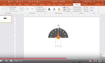 Create an Animated Gauge in PowerPoint