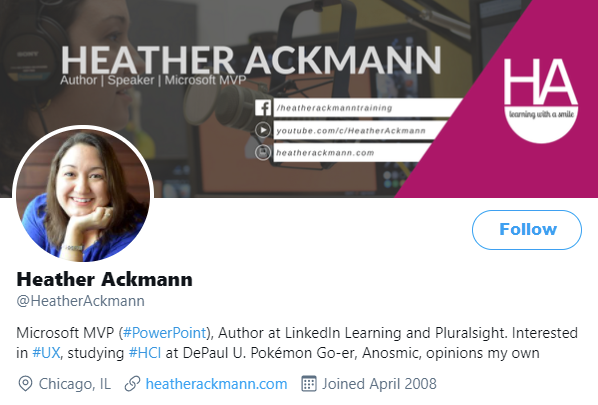 Twitter Profile Picture for Heather Ackmann
